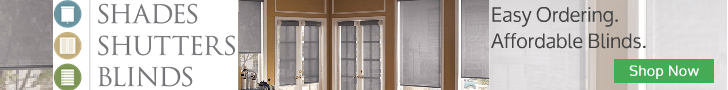 Shades Shutters Blinds - Easy Ordering. Affordable Blinds. Shop Now!