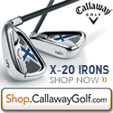 Callaway Golf X-20 Irons at Shop.CallawayGolf.com