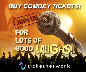 Buy Comedy Show Tickets!