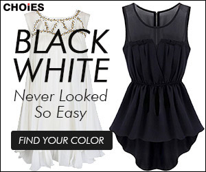 The classic Black & White never looked so easy! Find your color today. Shop CHOiES!