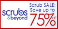 Scrubs & Beyond SALE - Save Up To 75%