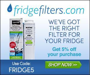 FridgeFilters: 5% OFF!