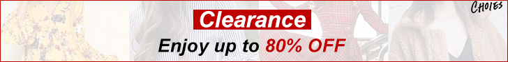 Thrilling Clearance!Unbelievably Steep 80% OFF!