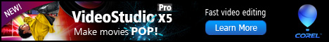Corel VideoStudio Pro X5 Video Editing Software