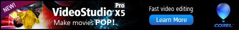 Corel VideoStudio Pro X4 Video Editing Software
