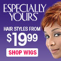 New fabulous wig styles by Harlem