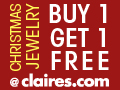 Buy One Get One Free Christmas Jewelry @ Claires.c