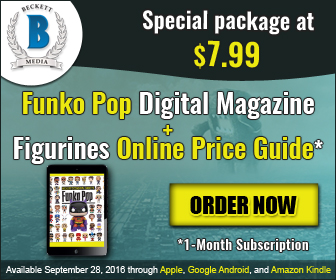 Buy Funko Pop Digital Magazine and get 1 Month Online Price Guide Figurines access Free
