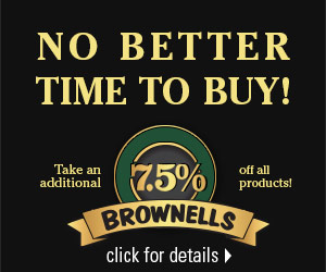 Save 7.5% today! Click the banner to learn how.