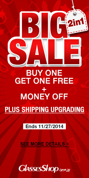 2 in 1 big sale! Buy one get one free +money off! Plus shipping upgrading.