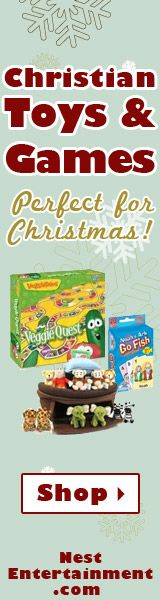 Christmas Toys and Games 160x600