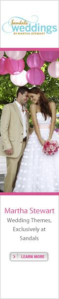 Sandals Weddings by Martha Stewart