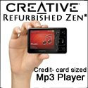 Refurbished Zen -a creditcard sized mp3 playe