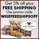 Shop Wise Food Storage