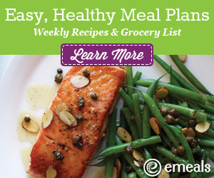 eMeals Easy, Healthy Meal Plans