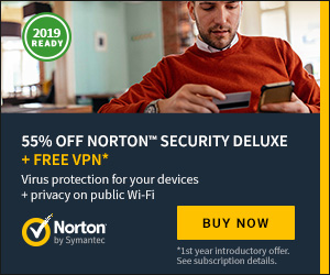 Norton by Symantec up-to 55% off plus Free VPN