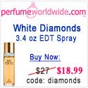 white diamonds for women