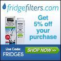 FridgeFilters:5% OFF!