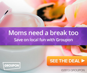 Moms need a break too!