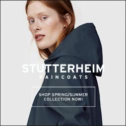 Stutterheim, raincoats, swedish, fashion
