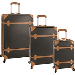 Diane von Furstenberg Saluti 3 Piece Hardside Spinner Set Now Only $199.95 Org. $1,140.00 Plus Free Shipping. Use Promo Code DVFSA at Checkout.