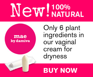 Drier than a British comedy? You are not alone. Buy Mae, 100% natural vaginal suppository.