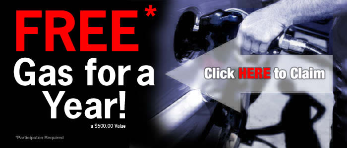 FREE Gas for a year!
