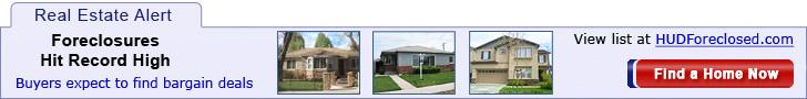 Foreclosures 60% below market price