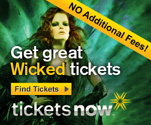 No Fees on Wicked Tickets