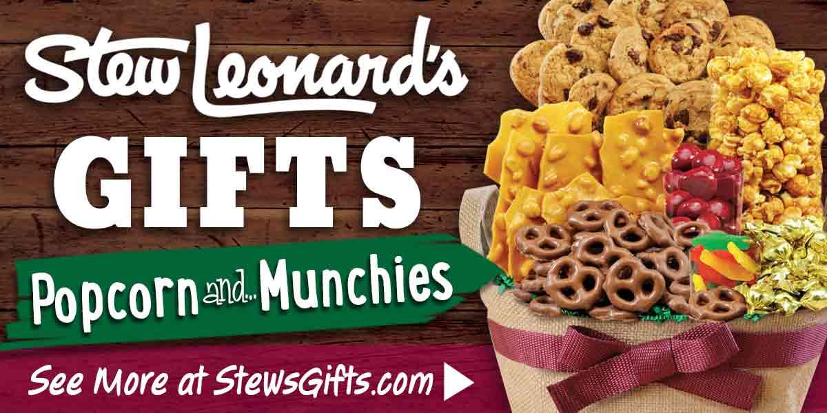 Stew Leonard's Gourmet Popcorn and Munchies