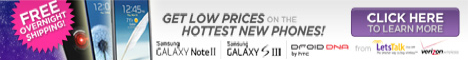 468X60 Banner Ad - Fall Savings