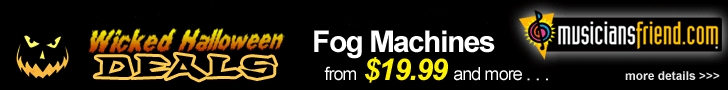 Wicked Halloween Deals: Fog Machines from $19.99