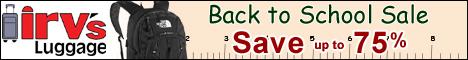 Shop Irv's Luggage Warehouse Best Deals