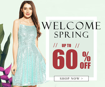WELCOME SPRING-UP TO 60% OFF