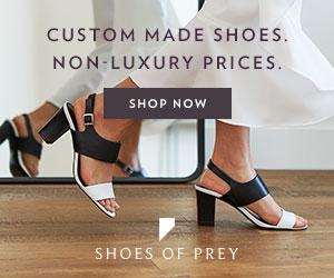 Shoes of Prey la chaussures femme sur mesure en ligne personnalisées et pas chere