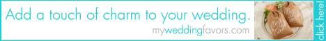 Unique and elegant wedding favors
