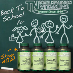 Back to School Vitamins & Supplements