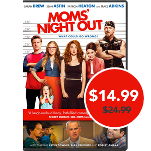 Moms' Night Out DVD & Blu-Ray: Get it now at FamilyChristian.com