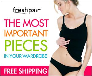 Lingerie at Freshpair.com