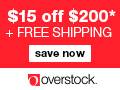 $10 off $200 Coupon at Overstock.com