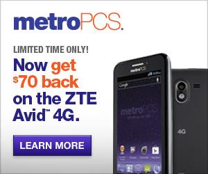 300x250 - ZTE Avid 4G, $50 off