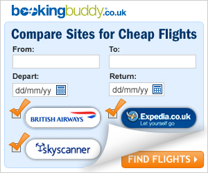 Booking Buddy compare sites for cheap flights