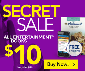 Fort Worth Entertainment Books Just $10