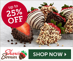 Up to 25% off Holiday Strawberries & Gourmet Gifts