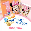 Minnie's 1st Birthday 125x125