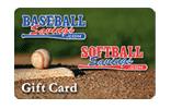 Baseball Savings Gift Card