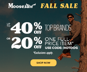 Fall Sale: Up to 40% off, plus 20% Off One Full-Priced Item. Exclusions apply.