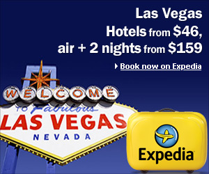 Las Vegas Hotels from $46 on Expedia.com