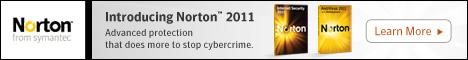 15% Off Norton Internet Security 09 468x60