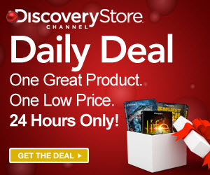 Shop Discovery Channel Daily Deals, up to 60% off!